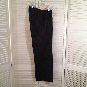 Mark Shale 6 Black Wool/Cashmere Trousers Pants